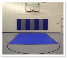 Indoor Basketball Court System
