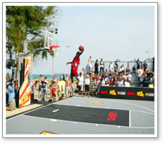Outdoor Basketball Event